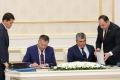 Өзбекстанның үш облыс әкімімен меморандумға қол қойды